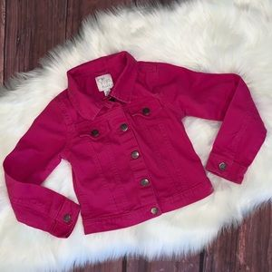 The Children's Place Pink Jean Jacket